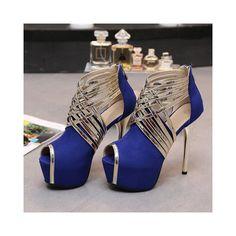 c75a0306c892 OCHENTA Femme Escarpins Sexy Tête de Poisson Plateforme 4CM Suedine Talon  Aiguille 14CM Sandales Zip  Amazon.fr  Chaussures et Sacs