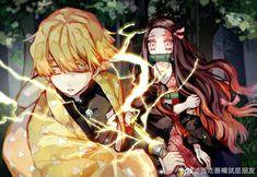 Imágenes random de Kimetsu no Yaiba - Zenitsu x Nezuko Slayers Anime, Jump The Shark, Maou Sama, Stray Dogs Anime, Demon Slayer, Anime Demon, Anime Ships, Kawaii, Manga Drawing