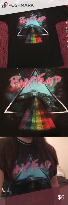 Women's pink Floyd shirt Awesome Pink Floyd shirt. Womans size large great condition! Tops Tees - Short Sleeve