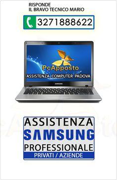 Centro asistenza notebook notebook Samsung per privati ed aziende. Lavoro eseguito a regola d'arte preceduto da preventivo. Il Bravo Tecnico Mario