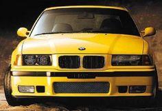 BMW M3 Coupe (E36) Yellow
