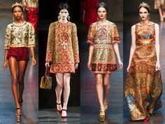 Milan Fashion Week 2013: Dolce & Gabbana and the Byzantine 60s
