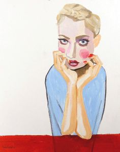 ...completely in love with Maya Gohill's portraits. We may, just may be working together in the future.