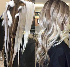 Best Ombre Hair, Ombre Hair Color, Hair Color Techniques, Light Hair, Hair Painting, Hair Highlights, Balayage Hair, Bayalage, Hair Looks