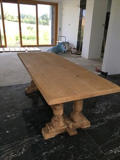Vintage table makeover