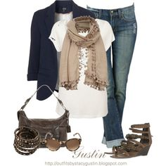 A classic casual look