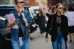 Streetstyle на Неделе моды в Копенгагене