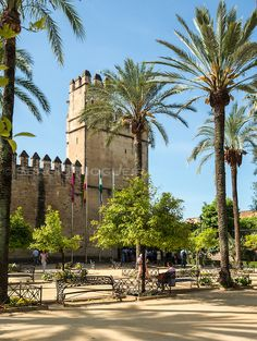 Alcazar de los Reyes Cristianos, Cordoba Reyes, Spain, Mansions, House Styles, Gallery, Photography, Image, Cordoba Spain, Palaces