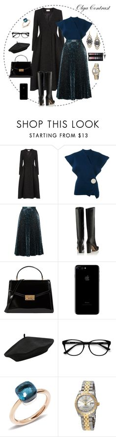 """17.10.2017"" by olgacontrast on Polyvore featuring мода, Temperley London, Jacquemus, Prada, Tory Burch, M&Co, EyeBuyDirect.com, Pomellato, Rolex и Armenta"