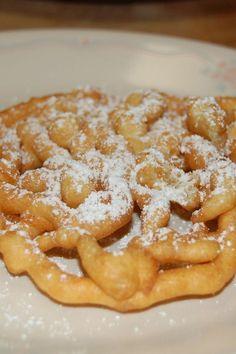 Classic Funnel Cakes Dessert Recipe