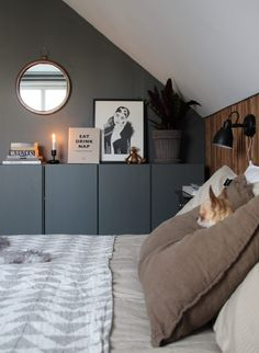 Home Bedroom, Modern Bedroom, Bedroom Decor, Interior Inspiration, Room Inspiration, Minimalist Room, House Doctor, Cheap Home Decor, Interior Design