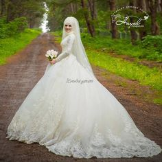 We wish you happiness dress wedding dresses Bridal Hijab, Disney Wedding Dresses, Hijab Bride, Pakistani Wedding Dresses, Wedding Dress Trends, Wedding Ideas, Nigerian Weddings, African Weddings, Muslim Brides