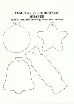Christmas Craft Templates