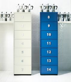 ToolBox chest of drawers be EmmeBi Cabinet Drawers, Chest Of Drawers, Filing Cabinet, Drawer Unit, Letters And Numbers, Home Collections, Tool Box, Locker Storage, Furniture Design