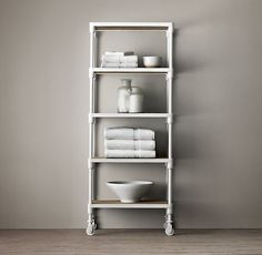 dutch industrial grande tagre - Bathroom Etagere