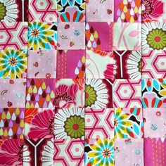 Block 22 #scrappytripalong, #pink by The Land of the Raspberry Rainbow, via Flickr