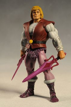 Prince Adam Masters of the Universe Classics MOTUC SDCC Exclusive action figure by MattelOrko Masters of the Universe Classics MOTUC SDCC Ex...