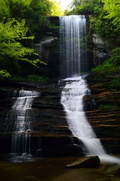 Amazing Pictures, Pretty Pictures, Mountain Waterfall, Nc Mountains, Western North Carolina, Waterfalls, Funny Texts, Beautiful Places, Nature