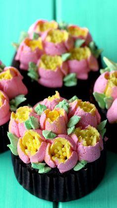 For the best, ultra moist cupcakes, STEAM, don't bake!