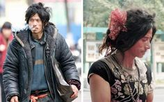 Cheng Guorong, aka Brother Sharp returned home after five years on the streets after someone posted his photo on the web. He became an overnight celebrity and sex symbol because of his good looks and the bohemian style in which he wore whatever he could put his hands on.