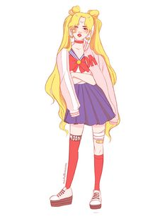 #fanart #illustraion #sailormoon #kawaii Miss Lumpalinda drawings