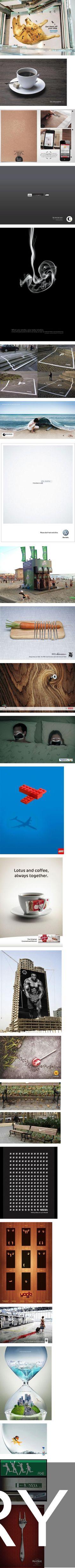 Some super creative ads!