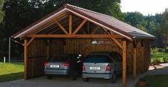 Carport with attached storage | Carports & Garages | Pinterest
