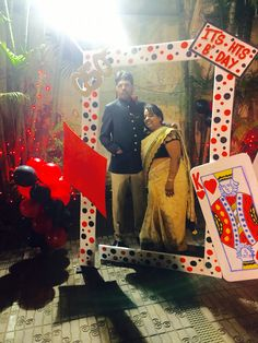 Casino theme picture frame. Photo booth frame. DIY photo ...