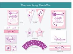 Princess Party Package - Printable Party Set