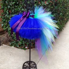 Peacock Tutu / Peacock Costume / Peacock by KatieDsCreations