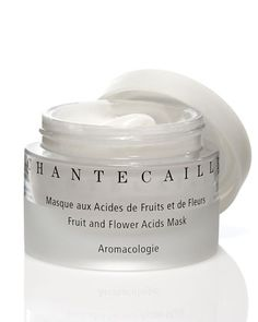 86.00 Chantecaille Fruit and Flower Acids Mask : Hibiscus flower acids, grapefruit enzymes, along with the AHA extracted from sugar cane gently dissolve the keratin and eliminate dead damaged cells.
