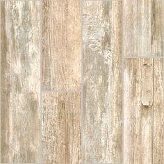 "Stonepeak Crate, Myrtle Beach, 6"" x 24"", Wood Grain Porcelain Tile"