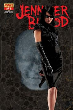 Jennifer Blood #18. Cover by Tim Bradstreet.