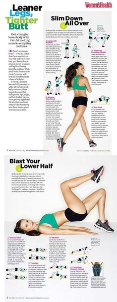 Want Slimmer Thighs? Check out These 25 Amazing Infographics ...