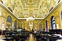 Alexandra Café, Lotz Hall, Parisian Mall, Budapest