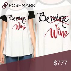 New Arrival!✨Please Be Wine Tee For the lovers of all things wine- here's the perfect Tee to express your adoration for your one and only! Lots of room to move in this a-line Tee perfect to pair with leggings since the back covers. 95% polyester 5% rayon; True to size. Open to offers. No trades. Tops Tees - Short Sleeve