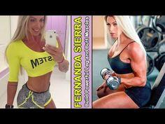 FERNANDA SIERRA - Athlete & Fitness Model: Build Powerful Leg and Butt M...