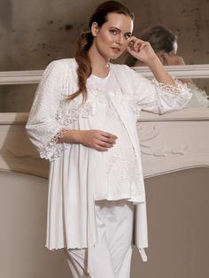 Artış 839 Üçlü Lohusa Pijama Takım | Mark-ha.com #stylish #fashion #newseason #yenisezon #trend #moda #hamile #lohusa #doğumçantası #hastaneçıkışı