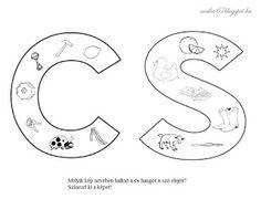 Játékos tanulás és kreativitás: Kisbetűkben képek a hangfelismerés gyakorlásához 2. Speech Therapy, Kids Learning, Literature, Symbols, Letters, Play, Home, Speech Pathology, Literatura