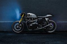 Triumph Bonneville Cafe Racer by The Bullitt #motorcycles #caferacer #motos | caferacerpasion.com