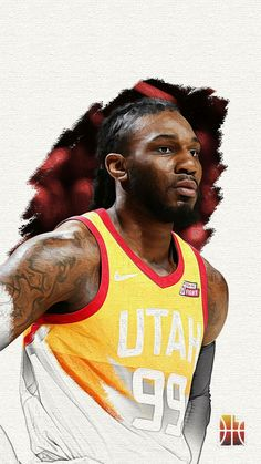 Jae Crowder is a basketball player for the Utah Jazz. Illini Basketball, Jazz Basketball, Basketball Playoffs, Basketball Schedule, Fantasy Basketball, Basketball Equipment, Basketball Shoes For Men, Basketball Tickets, Basketball Legends
