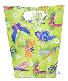 Dragonflies paper cups $3.95