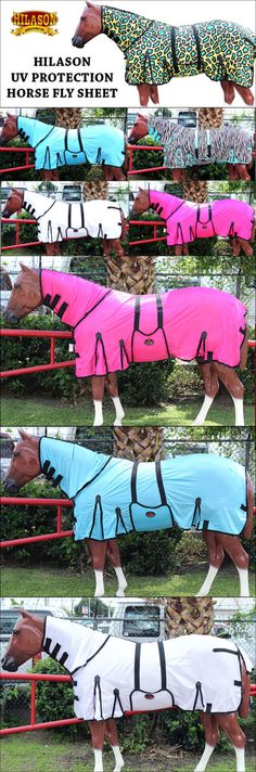 Horse Blankets and Sheets 85275: Hilason Uv Protection Airflow Mesh Horse Fly Sheet W Neck Cover And Belly Wrap -> BUY IT NOW ONLY: $63.95 on eBay!