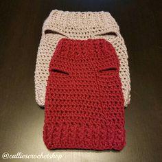 Knitting Patterns For Dogs, Crochet Dog Sweater Free Pattern, Crochet Dog Patterns, Dog Clothes Patterns, Dachshund Sweater, Dog Sweaters, Quick Crochet, Crochet Baby, Yorky Terrier