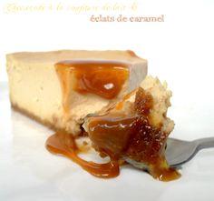 Encore un =P Ce cheesecake est légèrement crémeux et super doux grâce à la confiture de lait, les morceaux de caramel fondent et restent coulants. Un REGAL, bon appétit ☺ ! Ingrédients: Pour un cheesecake de 20cm de diamètre Pour la base - 120Gr de Spéculoos...