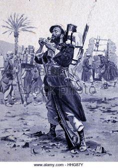 French Foreign Legion soldier in Algeria 1913