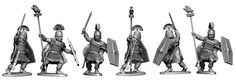 More variants of the Gallic command figure