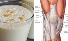 Smoothie for Stronger Knee Ligaments and Ache-free Joints.Smoothie for Stronger Knee Ligaments and Ache-free Joints.Smoothie for Stronger Knee. Oat Smoothie, Smoothie Recipes, Detox Smoothies, Detox Drinks, Healthy Smoothies, Healthy Drinks, Healthy Recipes, Healthy Food, Delicious Recipes