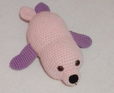Cute Baby Seal - Pattern by MadamLove on Etsy