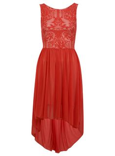 Red Deco Lace Maxi Dress, Interesting and Different - Prob Completely Swing and Miss...  http://us.missselfridge.com/webapp/wcs/stores/servlet/ProductDisplay?beginIndex=0==34080=13069=8389788=-1=_category_rn==18A06LRED=1=home